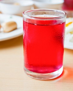 Pomegranate juice.
