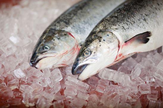 Salmon - foods containing astaxanthin