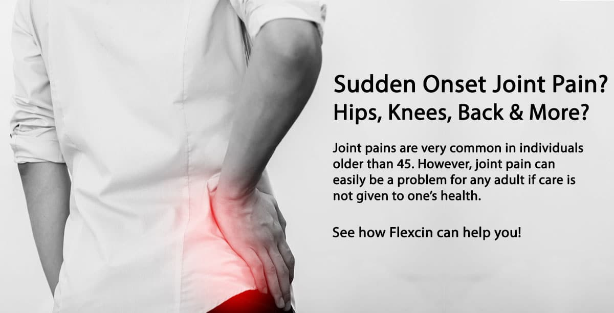 Sudden Onset Joint Pain Issues What Are The Causes